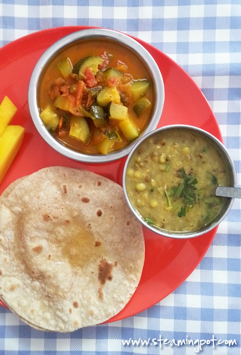 Toor Sabut Moong Dal with Ghee Tadka