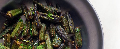 Masala Bhindi - Okra with Spices