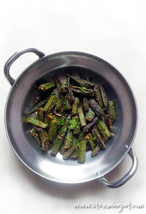 Bhindi Masala - Spiced Okra