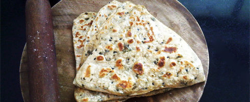 Triangular Parathas