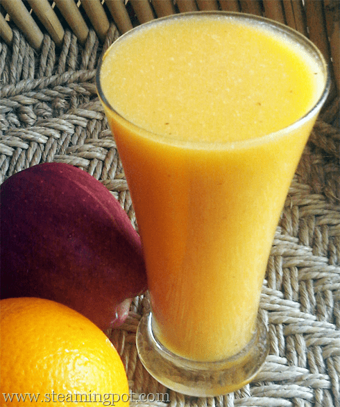Apple Orange Ginger Juice