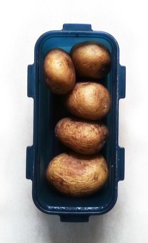 Boiled Potatoes, Unpeeled