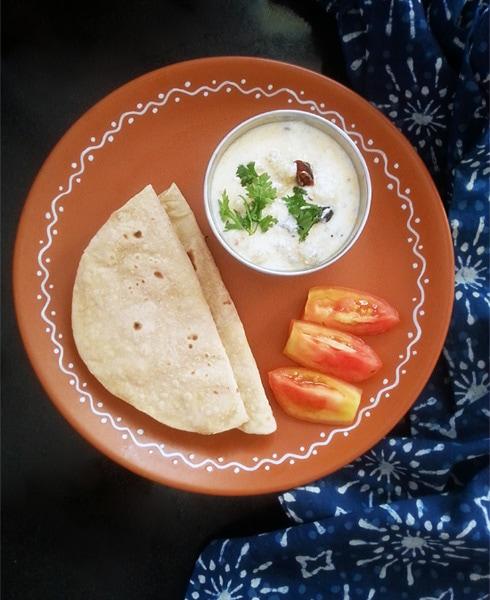 Dahi Aloo: Quick Potato Yogurt Curry