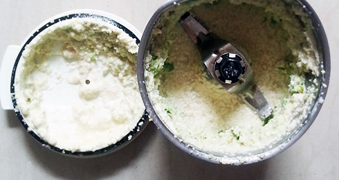 Green Chili and Poppy Seed Paste
