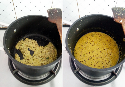 Poppy Seed Paste, Cooking