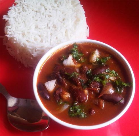 Rajma Masala: Red Kidney Beans in Tomato Gravy