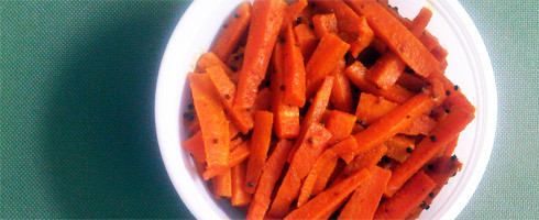 Achari Gajar: Pickled Carrots
