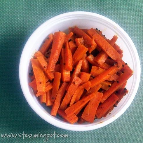 Achari Gajar: Pickled Carrots