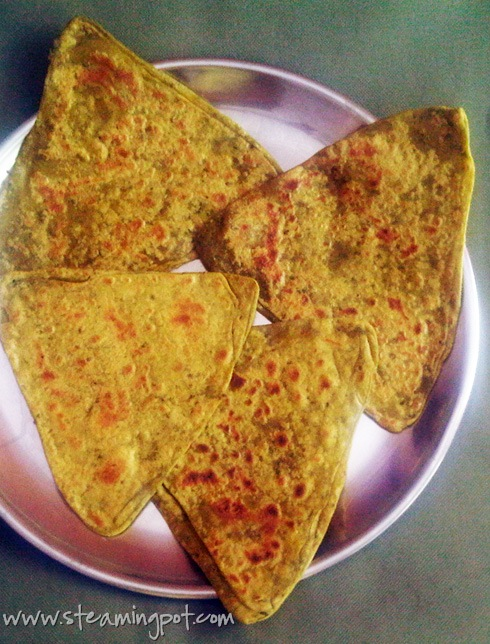Methi Parathas: Fenugreek Flatbread