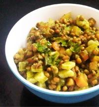 Boiled Moong Bean Salad