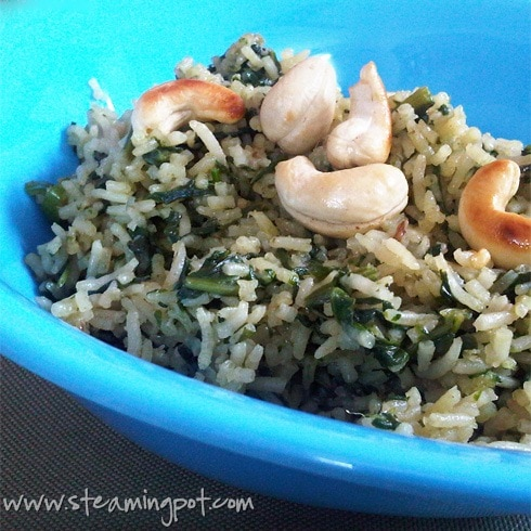 spinach-rice-closeup
