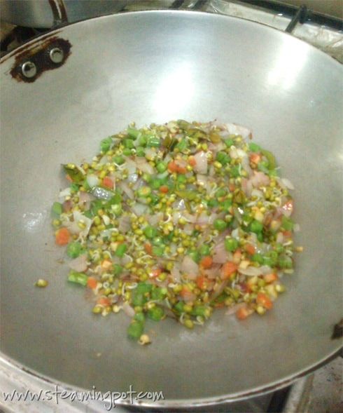 Upma, Cooking 1