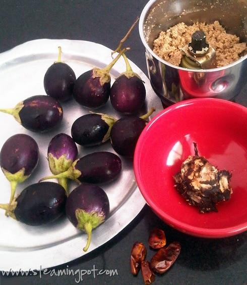 Baby Eggplant Masala