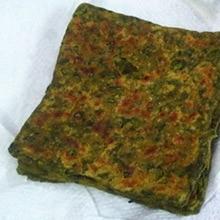 Spinach Parathas