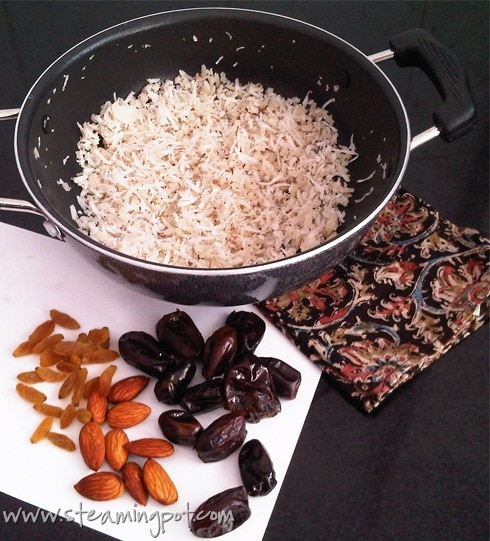 Coconut Date Bonbon Ingredients
