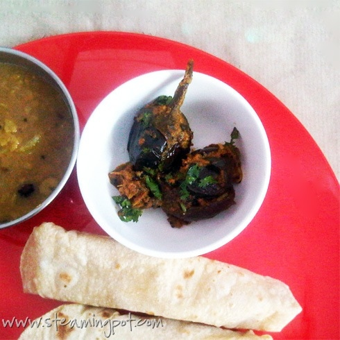 Baby Eggplant Poppy Seed Curry