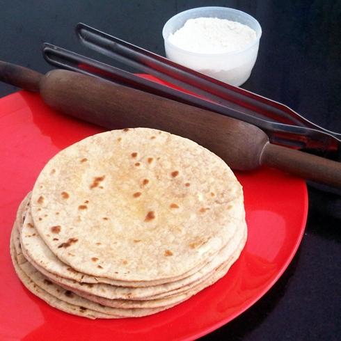how to make phulka roti on electric stove