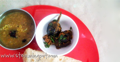 Baby Eggplant in Poppy Seed Sauce