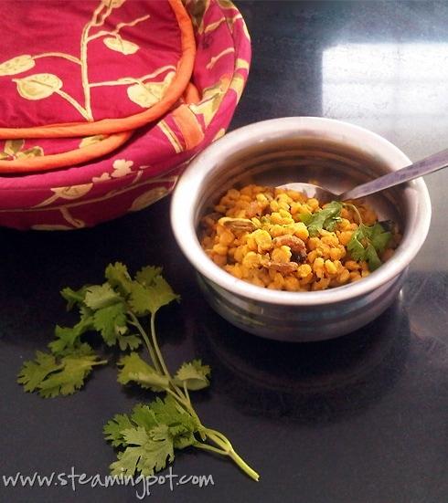 Chana Dal with Raisins