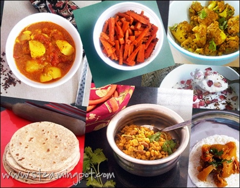 7 indian menu ideas for vegetarians the steaming pot indian menu ideas forumfinder Images