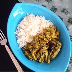 Dahi Bhindi: Okra in Yogurt Sauce