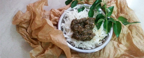 Curry Leaf Poppy Seed Chutney