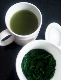 boiled-spinach-water