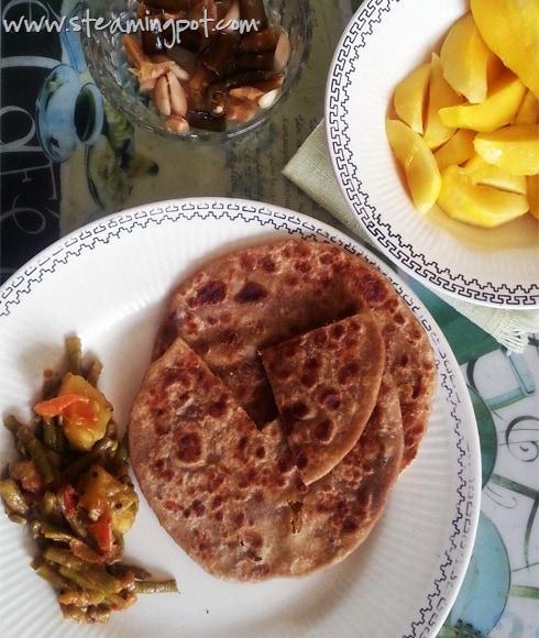 Sattu Paratha: Stuffed Flatbread, Bihar Style
