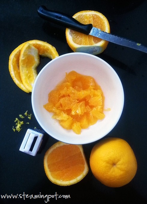 Oranges Cut for Marmalade