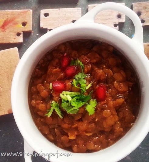 Red Lentil with Tamarind and Dates