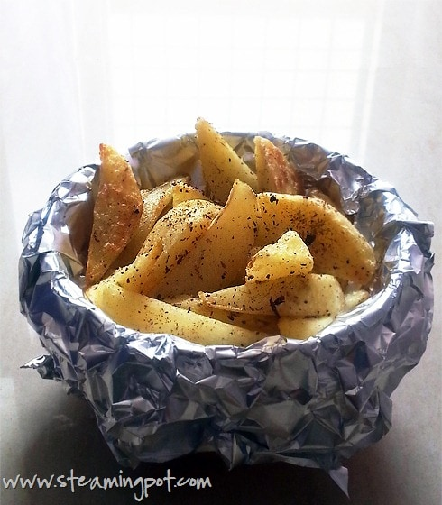 French Fries without Deep-Frying
