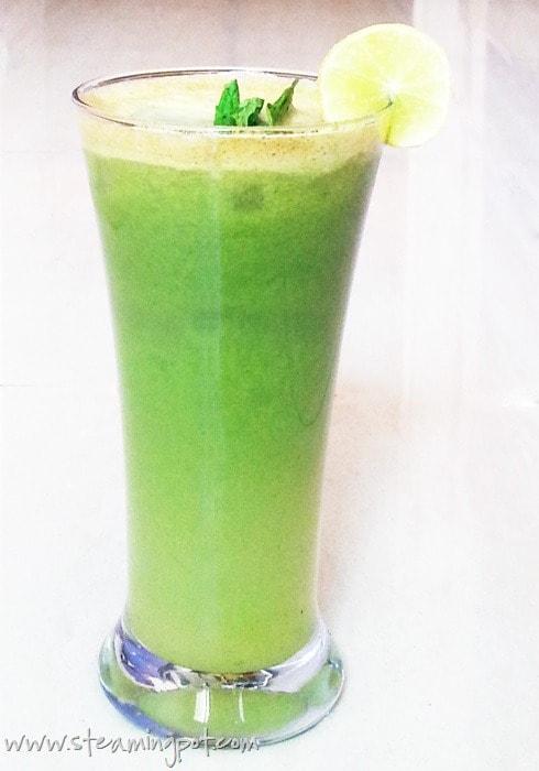 Apple Cucumber Mint Juice