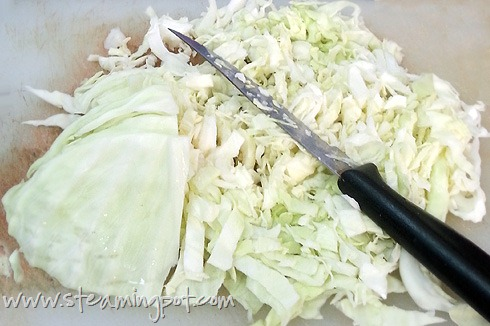 Cabbage, Shredded
