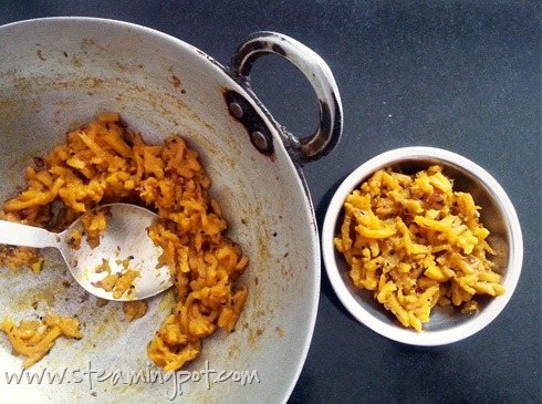 Red Pumpkin Bharta