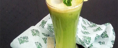 Apple Cucumber Mint Juice