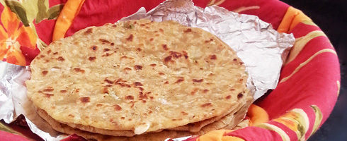 how to make cabbage paratha