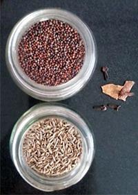 Mustard Seeds, Cumin Seeds
