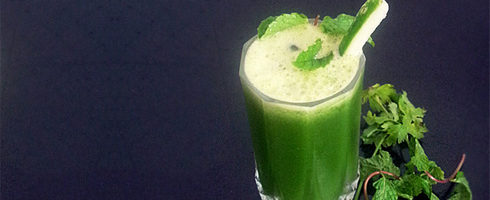 Cucumber Coriander Mint Juice