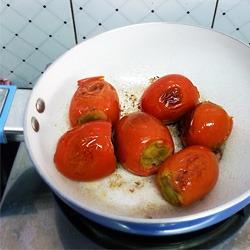 Tomatoes Frying