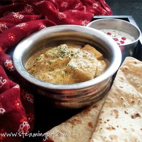 Paneer Butter Masala Curry