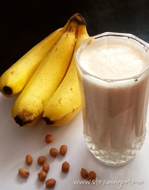 Banana Peanut Shake