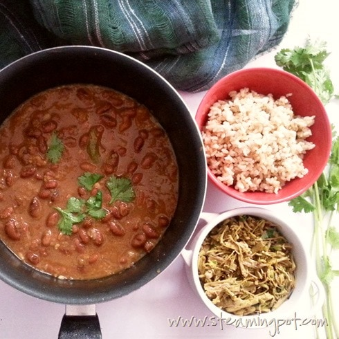 Rajma Masala with Brown Rice