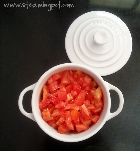 Tomatoes to be Microwaved