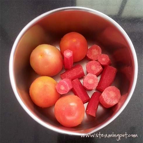 Tomatoes and Carrots
