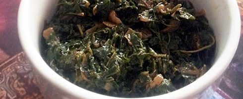 Chaulai Saag - Amaranth Leaves Stir Fry
