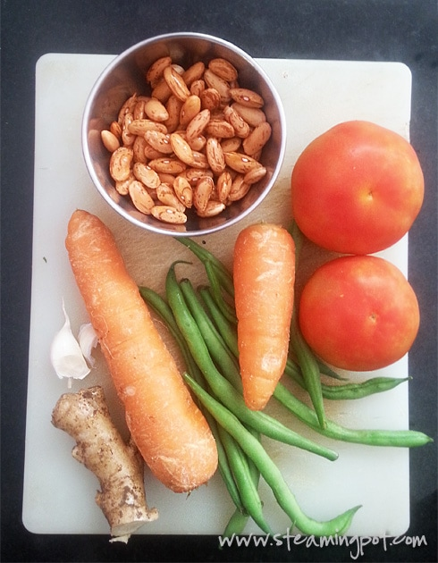 Sabziwale Rajma Ingredients
