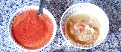 Tomato Paste, Onion Paste