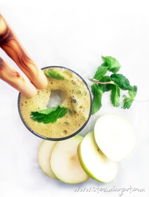 Pear Ginger Mint Juice