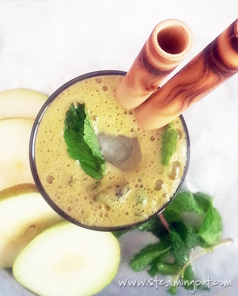 Pear Mint Ginger Juice