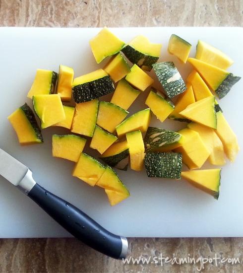 Pumpkin Chopped